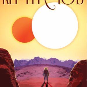 Kepler 16 b Poster
