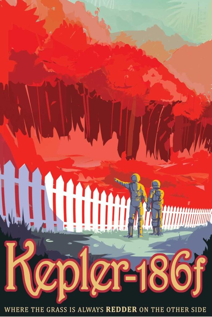Kepler 186 f Poster